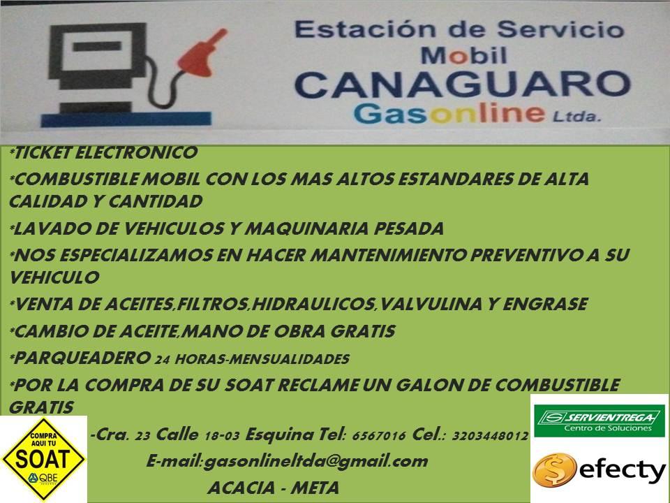 ESTACION DE SERVICIO CANAGUARO