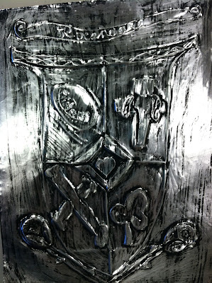 Middle School Coat of Arms Artwork