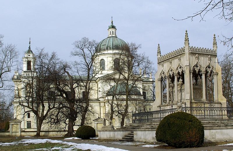 Wilanów Kościół św. Anny od południa