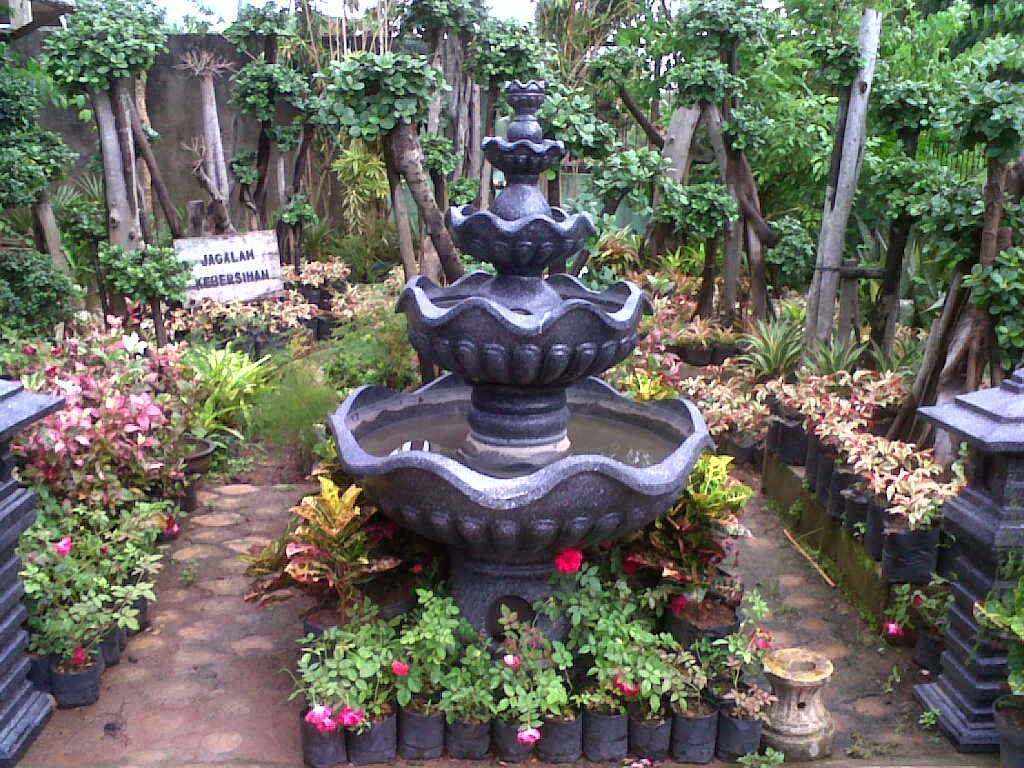 Jual pagoda air mancur | kolam minimalis | miniatur air terjun