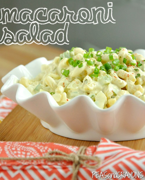 Homestyle Macaroni Salad: quick, easy, and delicious!