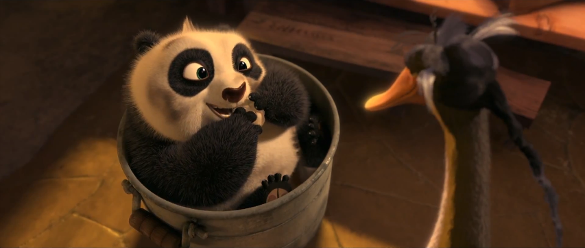 cuteness of our clumsy dragon warrior --- which is erm   a Panda   DKung Fu Panda 2 Baby Po