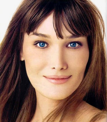Carla Bruni is married to Nicolas Sarkozy (image hosted by http://hary-fsahion.blogspot.com)
