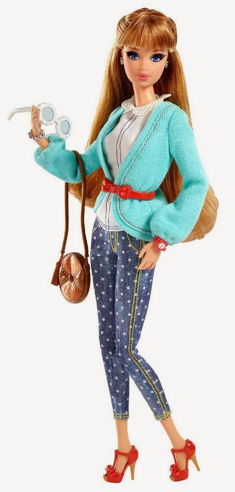 JUGUETES - BARBIE Style  Muñeca Midge | Fashionista | Deluxe  Producto Oficial 2014 | Mattel CBD30 | A partir de 5 años