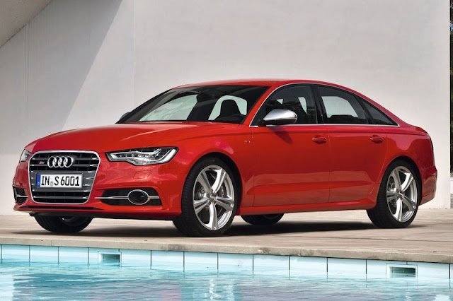2013 Audi S6 Saloon Front Exterior