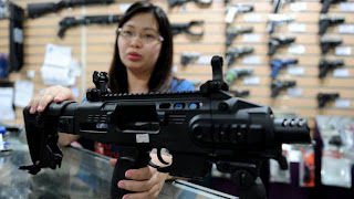 Philippines awash in illegal firearms; Citizens armed themselves due