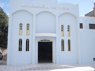 Sede da Assembleia de Deus em Salinas da Margarida-Bahia