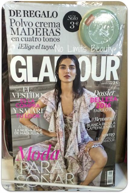 Regalos revistas enero 2016: Glamour