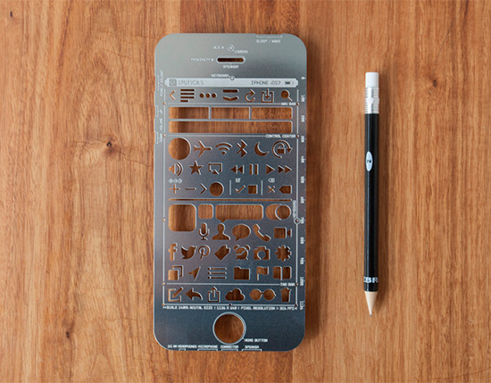 ui stencils iphone