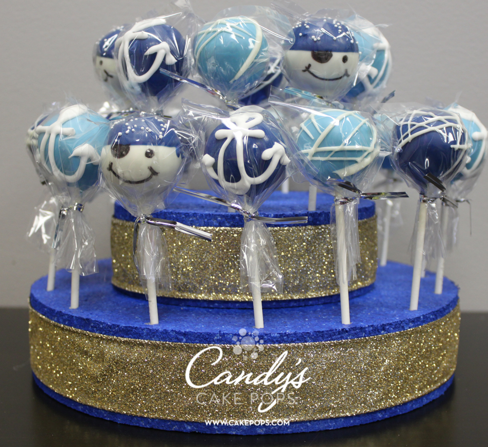 Nautical Theme Cake Pops Anchors Candys Cake Pops