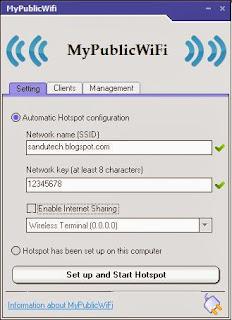 my public wifi