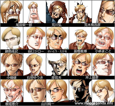 Ini Jadinya Jika 10 Karakter Manga Digambar Oleh Mangaka Lain