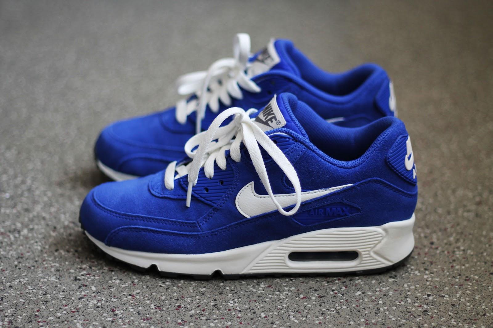 nike air max 90 premium blue