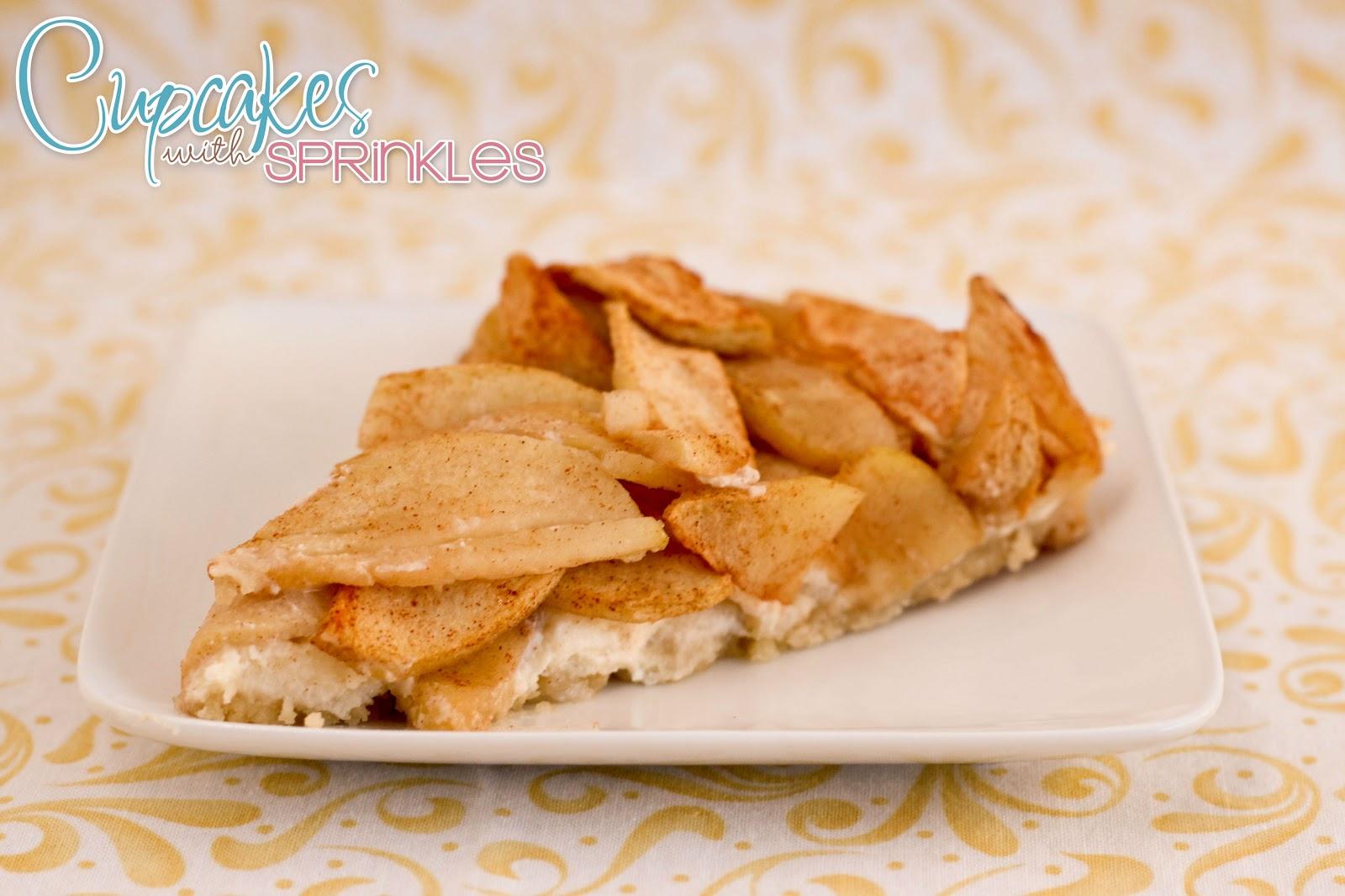 Cupcakes with Sprinkles: Barvarian Apple Torte
