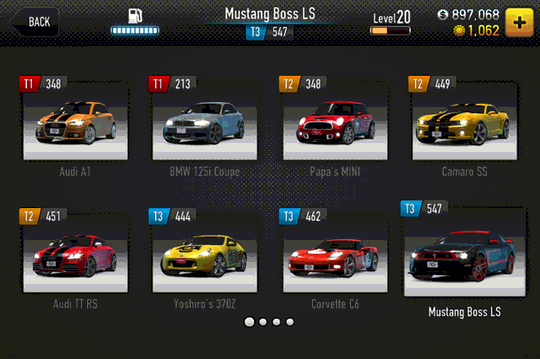 CSR Racing Mod Cheats Apk