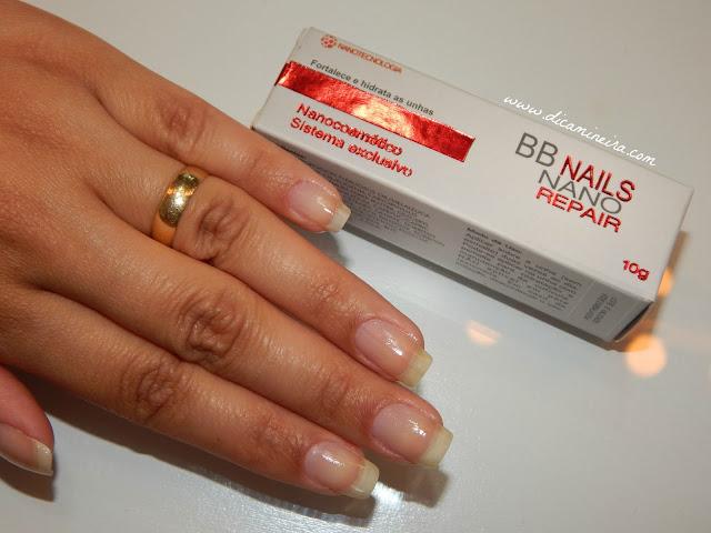 Fortalecedor e Hidratante de Unhas: BB Nails Nano Repair