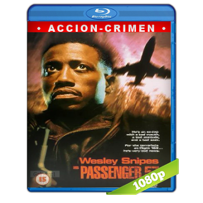 Pasajero 57 (1992) BRRip Full 1080p Audio Trial Latino-Castellano-Ingles 5.1