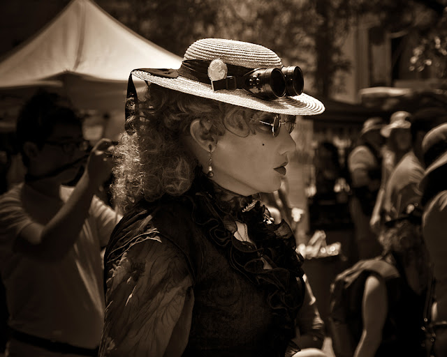 Steam On Queen Steampunk Street Fair 2014
