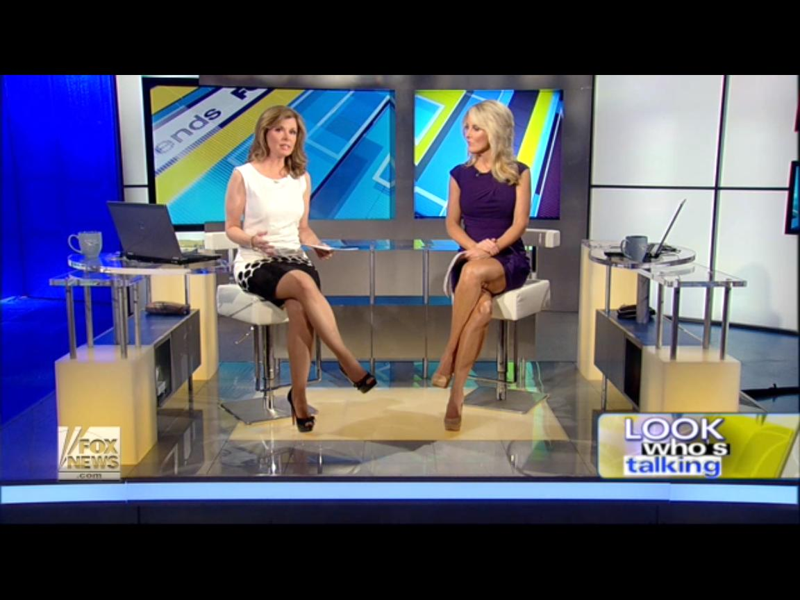 : Patti Ann Browne and Heather Childers caps @ Fox and Friends 1st