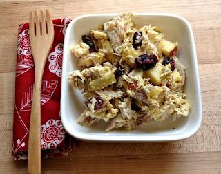 Recipe: Spicy curry chicken salad