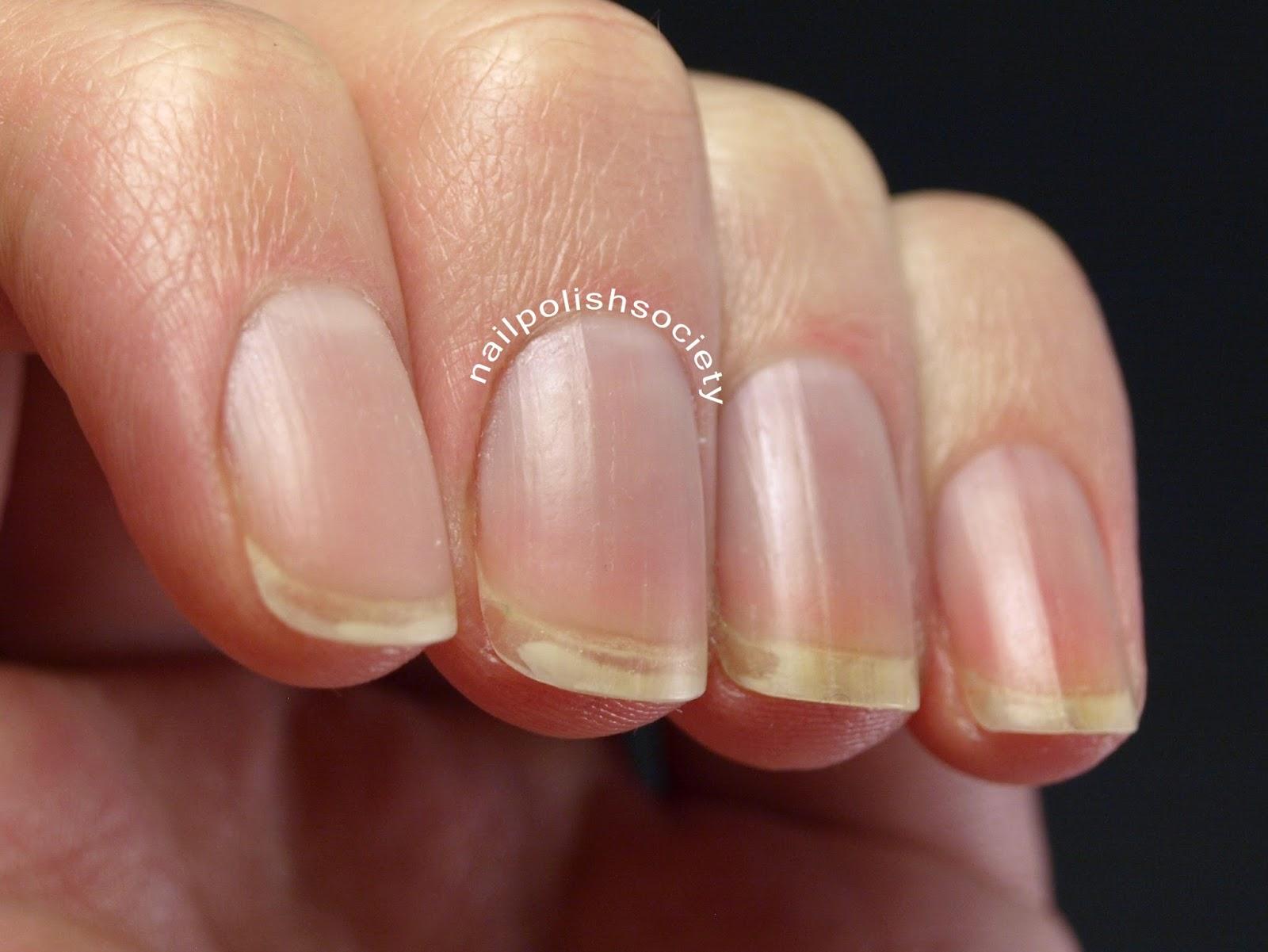 Nail Polish Society: Lent Manicure... My Very Naked Nails and Nail Care