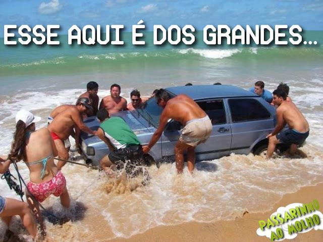 carro, praia, wtf, pescando carro