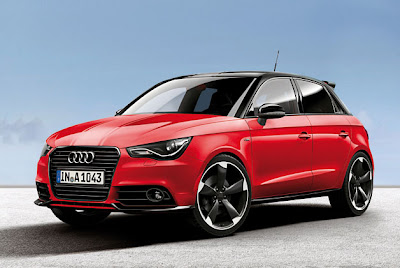 Audi unveils A1 in exclusive red and white flavors