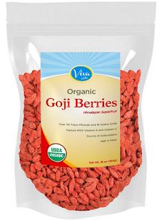 via labs organic goji berries pack