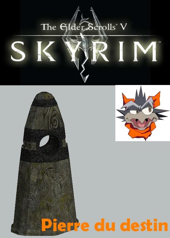 Skyrim Standing Stones Papercraft
