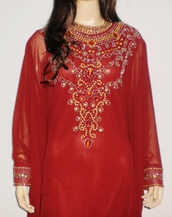 Grosir Baju Muslim Murah Online Tanah Abang Gamis Mewah Gp027