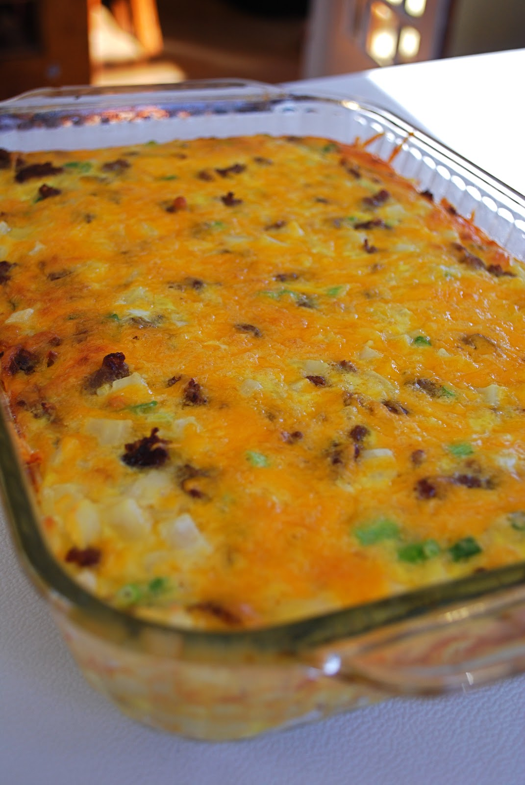 usually use shredded hashbrowns when I make this, but the grocery ...