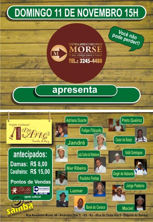 Projeto Cultural Samba du Arte & Convidados