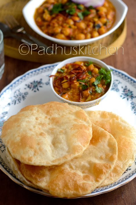 Chole Bhature-Channa Bhatura Recipe