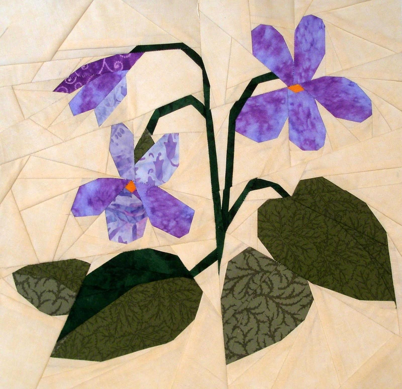 Violetas. Noviembre