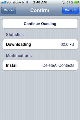 cydia app install confirm