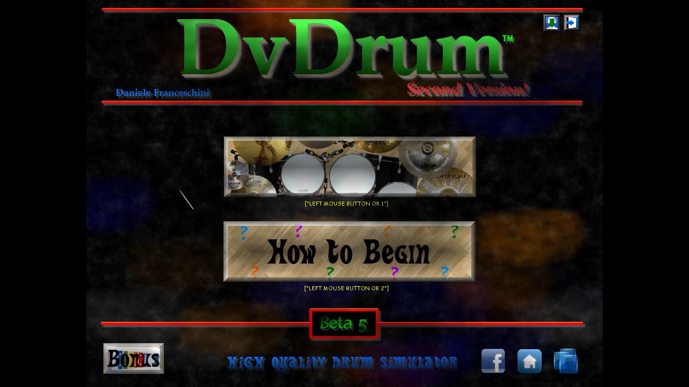 DvDrum 2 Beta 5 Full Version Free Download Simulator Drum Terbaik