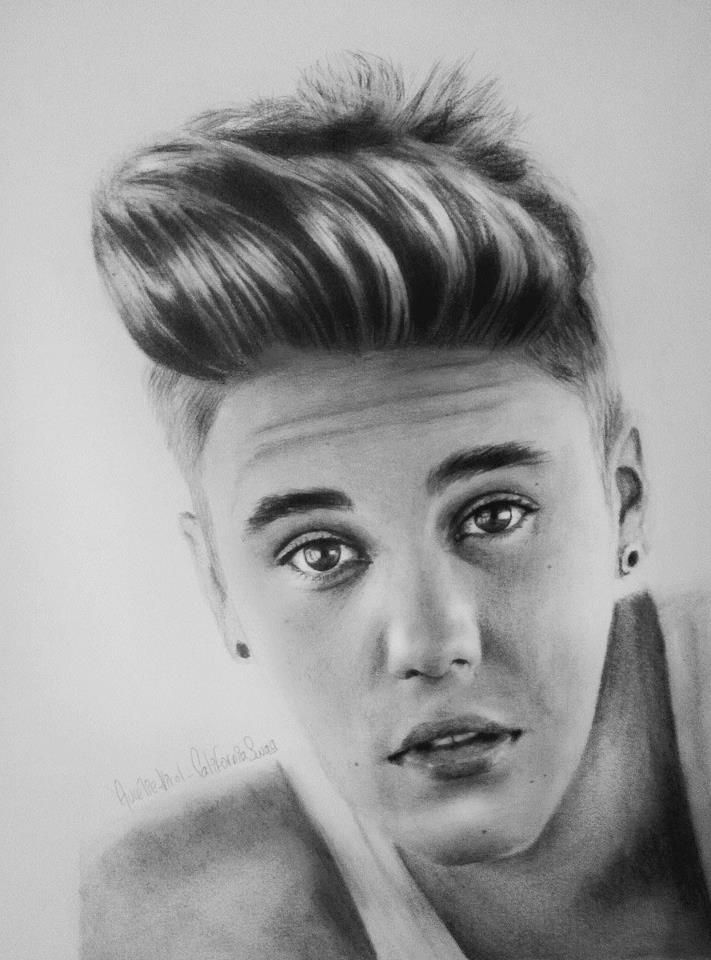 Justin Bieber Drawing 2016 ~ 3D Drawing