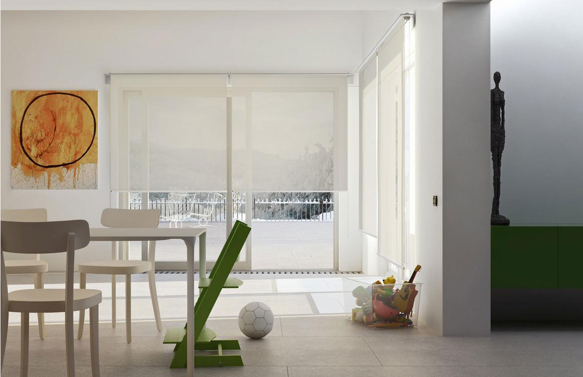 Guida tende for Rideau pour porte patio cuisine