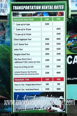 Rent A Car Philippines Rates