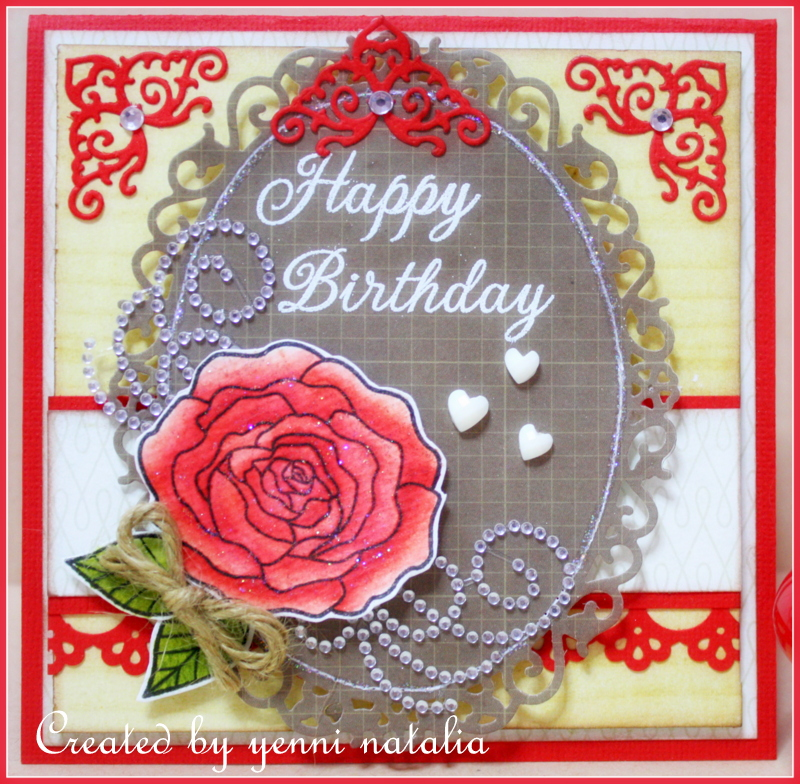 Happy Birthday Card And The Winner Yenni Paper Love