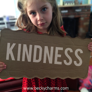 Social Project : The Cardboard Sign by BeckyCharms