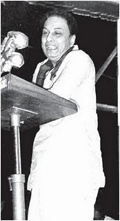 MGR Speaks in a Meeting