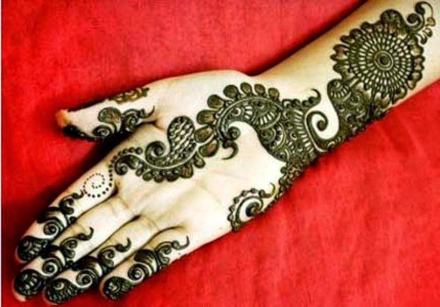 New Latest Beautiful Hand Mehndi Designs Wallpapers Free Download