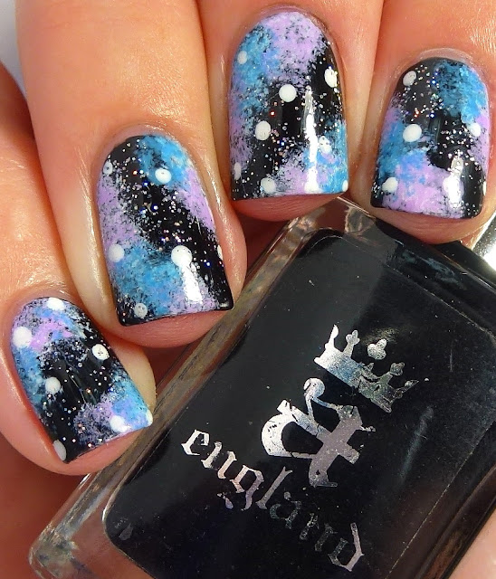 Polish Days - Something New, Galaxy Nails