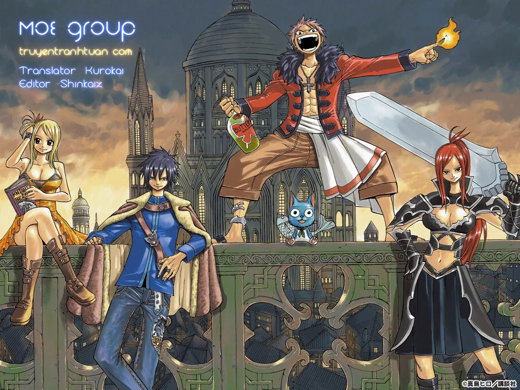 TruyenHay.Com - Ảnh 1 - Fairy Tail Chap 345.5