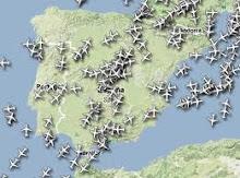 Radares Aereos en tiempo real