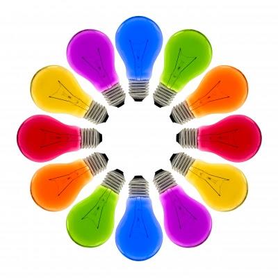 Dicas de Modelos de Lâmpadas Coloridas