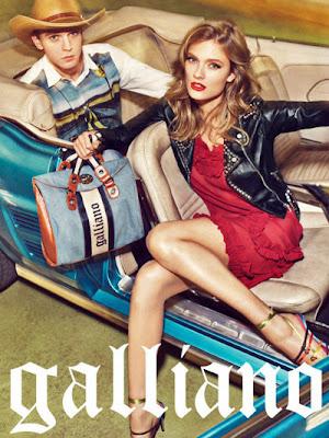 Campaña Galliano primavera - verano 2012