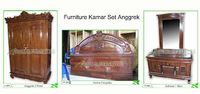 Kamar set Furniture Klender Anggrek