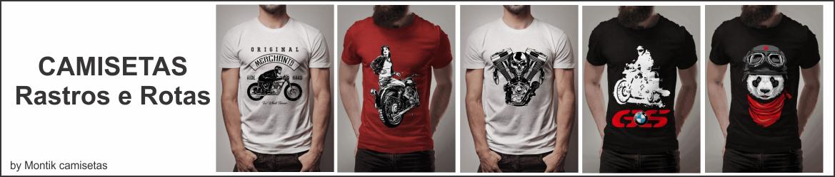Camisetas Rastros e Rotas